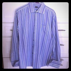 French Cuff Designer Shirt-Paul Smith London